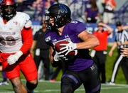 Northwestern running back Drake Anderson had 141 yards in 26 carries in the win over UNLV.
