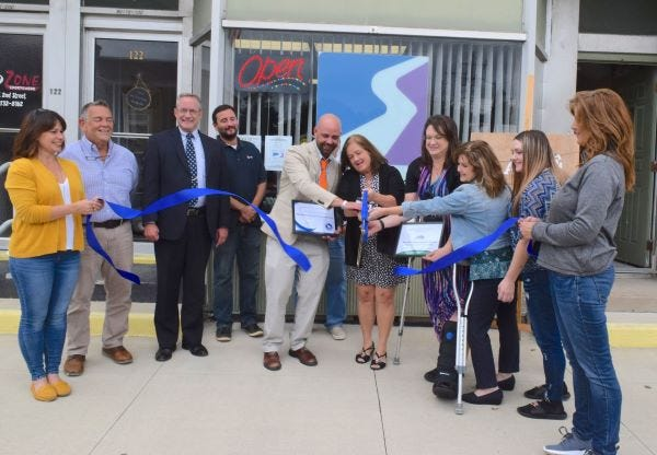 A ribbon cutting was held at Safe haven Behavoral Health Services on Sept. 5.