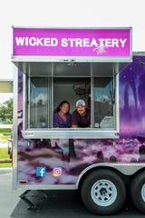 Jeremy and Alyssa Playford opened the Wicked Streatery food truck in fall 2018.