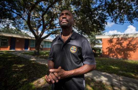 Lehigh Acres resident Jean Claude Jean, a worker at Franklin Park Elementary in Dunbar, has several family members that are unaccounted for in the aftermath of Hurricane Dorian's impact in the Bahamas.