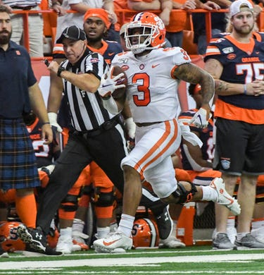 The numbers don't lie: Clemson football dominates at Syracuse
