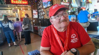 A Petal man has participated in the Special Olympics since its inception in 1968.