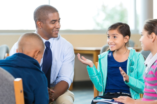 Child Advocates' educational liaison program helps children in foster care adapt to new schools and curricula.