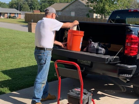 When John Lubic comes to a job, his truck is filled with the tools he'll need.