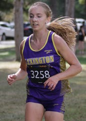 Lexington's Joanna Halfhill draws inspiration from past Lex runners fueling her desire to carry on the tradition.