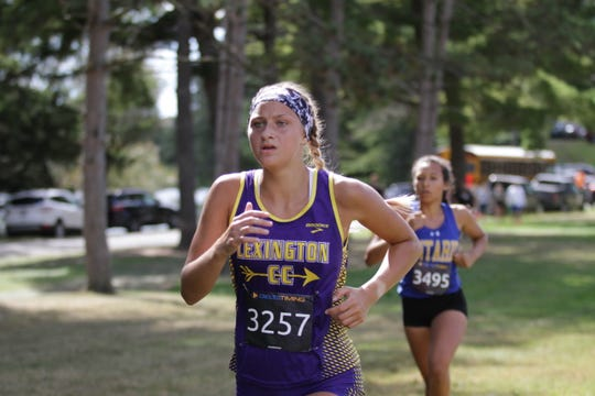 Lexington's Tessa Gerhardt is the lone senior on the 2019 team and a true team leader.