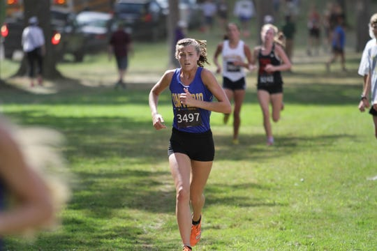 Ontario's Brienne Trumpower finished as the 22nd fastest runner in Division II as a freshman and has three years left to become a 4-time All-Ohioan.