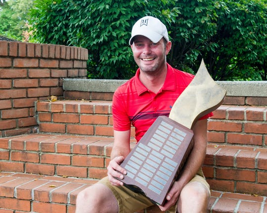Andy McIntyre defended his Richland County Men's Golf Association title on Sunday at Westbrook Country Club firing a tournament-best 148.