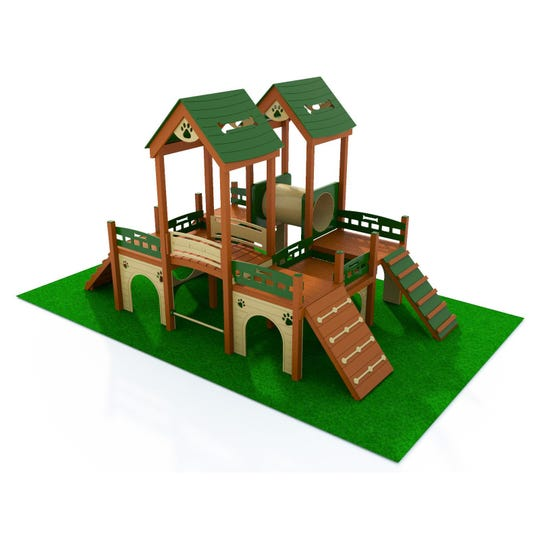 A Deluxe Kennel Club Playground is one piece of equipment that will be installed at the Bartlett Dog Park.