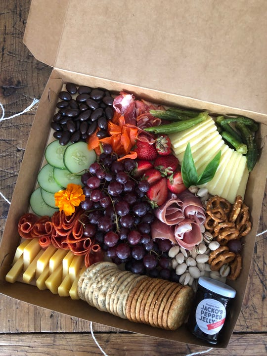 Feast & Graze is a new service that delivers hand-crafted charcuterie boards for your entertaining needs.
