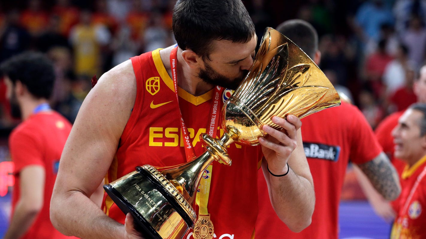 Marc Gasol wins another title, takes another championship parade chug