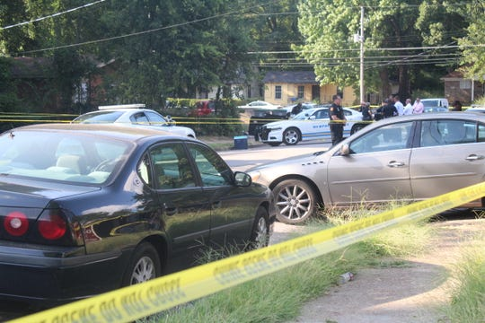 A man was killed in Orange Mound on Monday on Midland Avenue and Marianna Street.