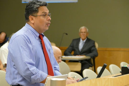 City of Marco Island finance director, Guillermo Polanco, presented the resolution to adopt the 2020 city budget on Sept. 16. The total millage rate proposed for operating and debt service purposes is 1.8821 mills, 2.42 percent less in comparison to fiscal year 2019.