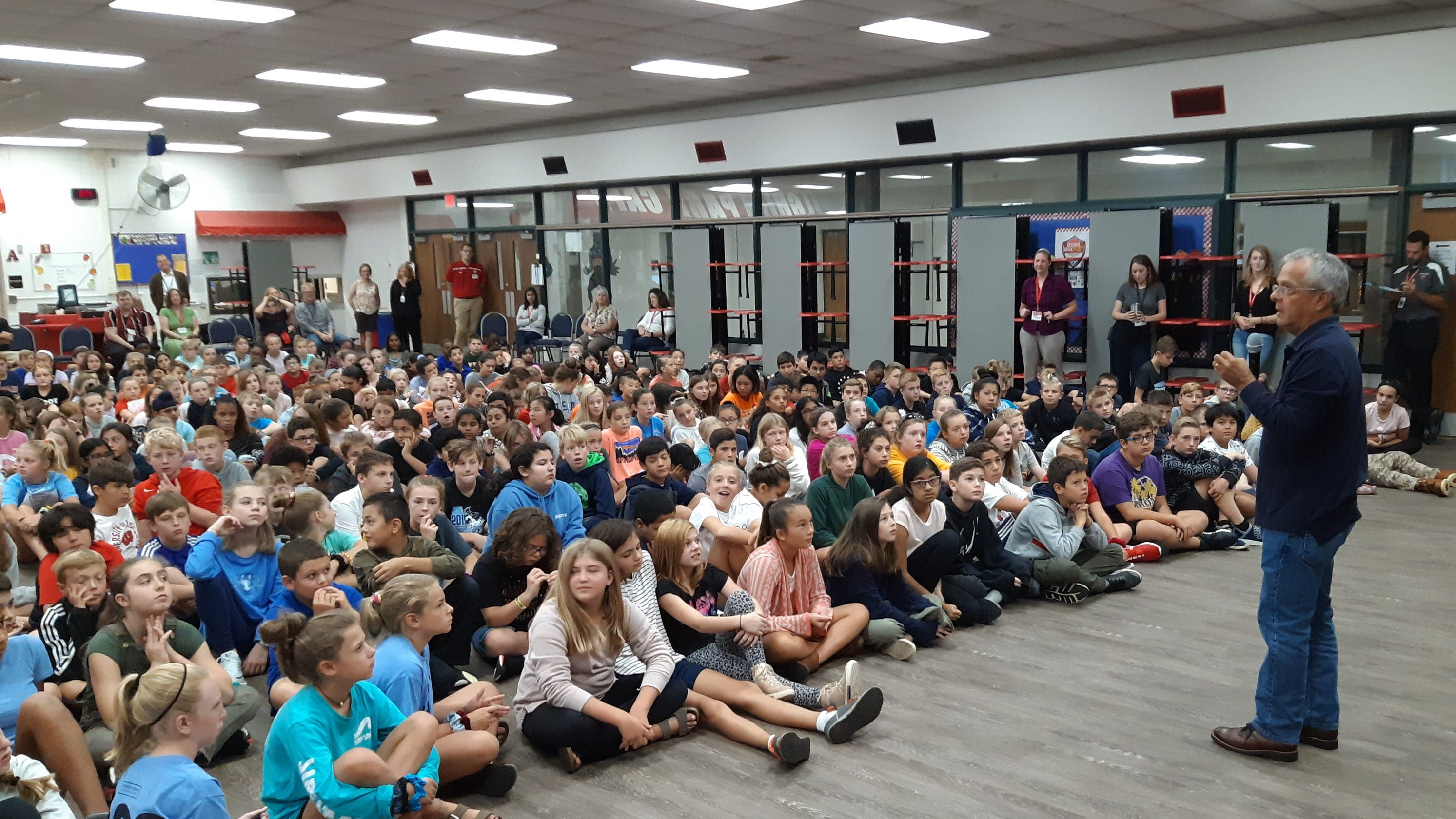 New York Times best-selling author Mike Lupica visits Elm ...