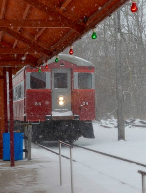 The East Troy Railroad is planning trips this fall and winter, including Christmas trains. Masks are required.