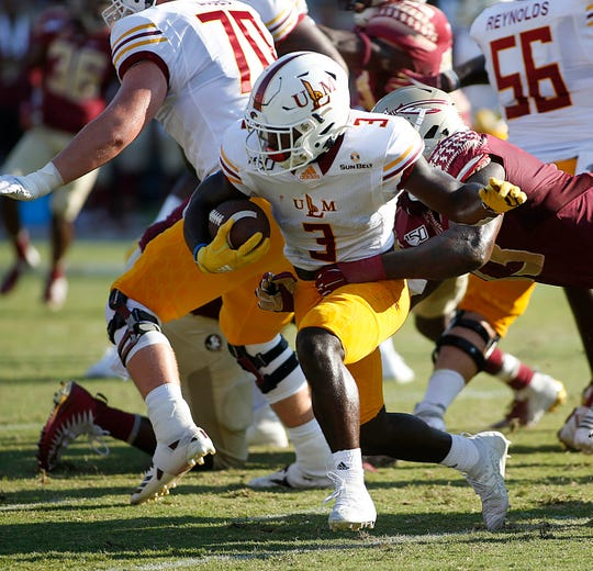 ULM played Florida State after the Seminoles dropped their home opener to Boise State and came back from a three-score deficit to force overtime.