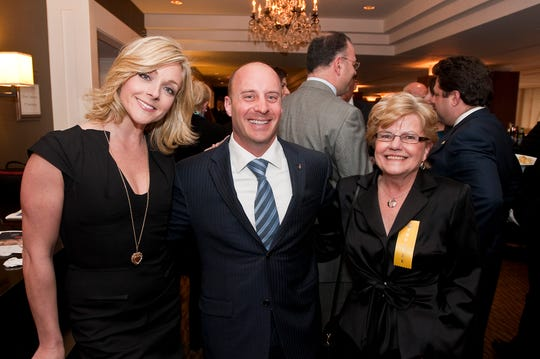 (L-R) Actress Jane Krakowski, NASA Astronaut Garrett Weisman and former Parsippany Mayor Mimi Letts at Morris Tomorrow's 25th Anniversary Gala at the Westin Governor Morris Hotel in Morris Township, March 27, 2009.