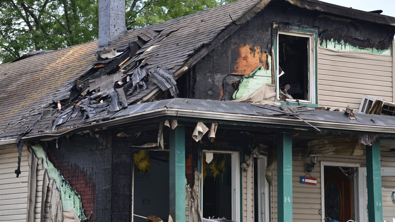 Garfield Nj Two Alarm Fire Severely Damages Home