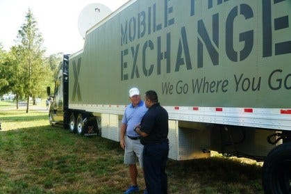 The Army & Air Force Exchange Service is spreading the word about its dedication to troops worldwide and its commitment to supporting Army Emergency Relief during @AMilitaryTribute at the Greenbrier, the first stop of the 2019-2020 PGA Tour.