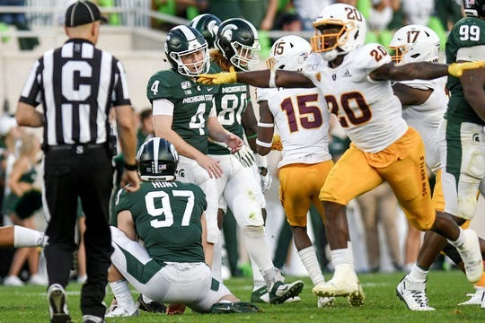 ASU football beat Michigan State, but the victory didn't come without controversy.