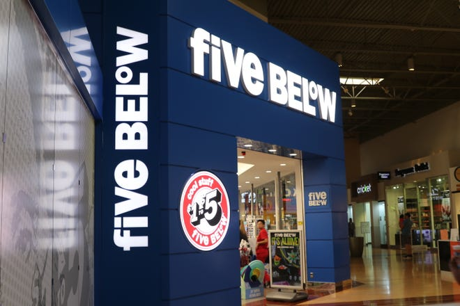 The Five Below store at the Arizona Mills Mall in Tempe.
