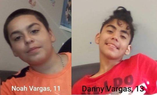 Noah and Danny Vargas.