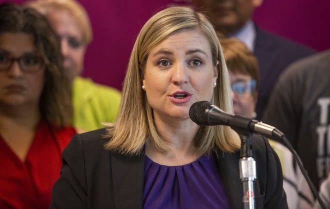 Kate Gallego, alcaldesa de Phoenix, Arizona.