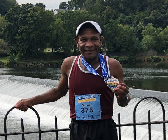 Poughkeepsie-based Middle-Aged Machines runner Michel Joseph recently earned a Boston Marathon qualifying mark in Pennsylvania.