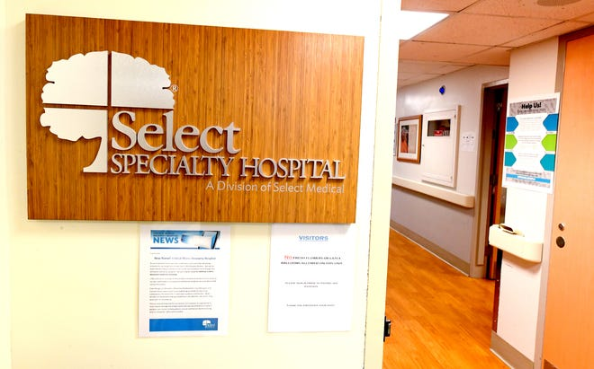Select Specialty Hospital, Monday, Sept. 16, 2019, is moving from York Hospital to a new location. Bill Kalina photo