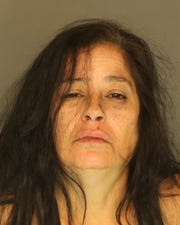 Lydia Aviles-Casanova, arrested for aggravated assault, simple assault and harassment.