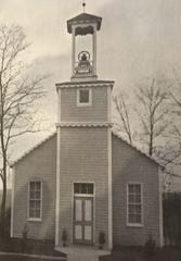 Harmony Grove Church photograph from 1936 biography of Abraham Rudisill.