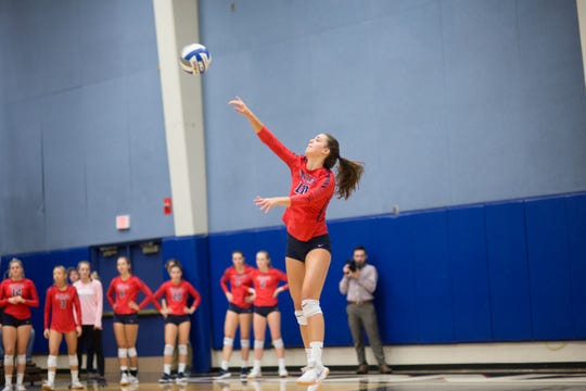 Bishop Manogue grad Katelyn Oppio is a junior on the Gonzaga volleyball team. Gonzaga plays Nevada on Saturday in Reno.