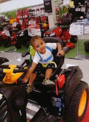 A family photo of Bryce Raynor, 3, who died when he fell into a grease trap behind a Tim Hortons restaurant.