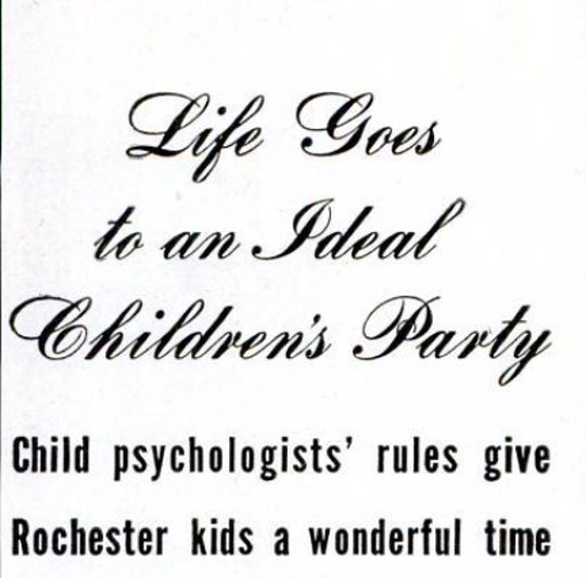 "The ""Life"" headline from 1946."