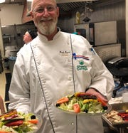 Brad Peters, culinary arts instructor, oversees the kitchen at the Shasta College Bistro.