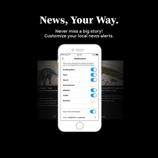 SJ app news alerts