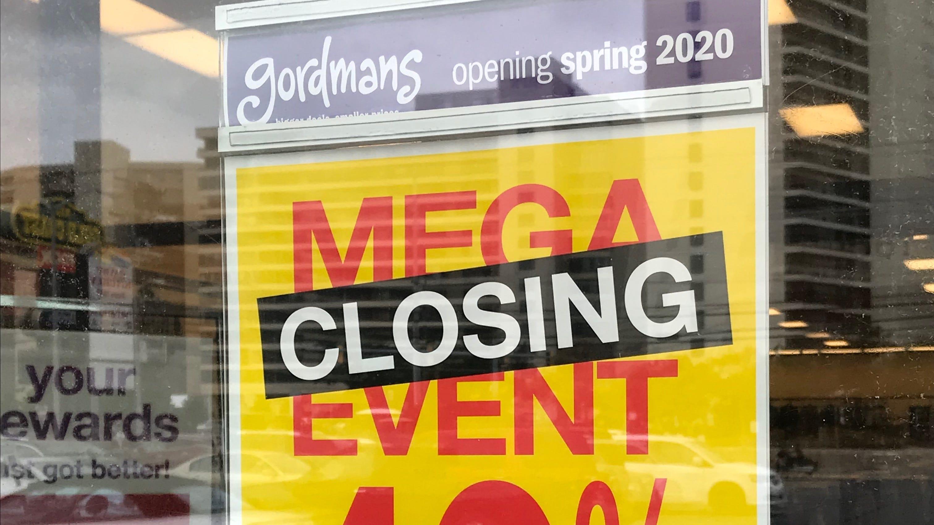 Business closings across Delmarva in 2019