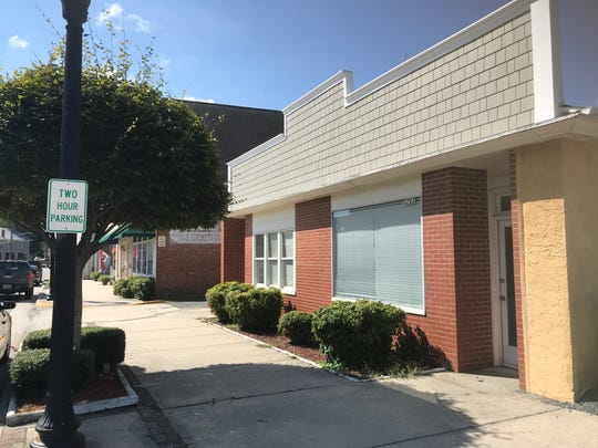 This building at 3292 Main Street in Exmore, Virginia will be the location of a  new business incubator and co-working space.
