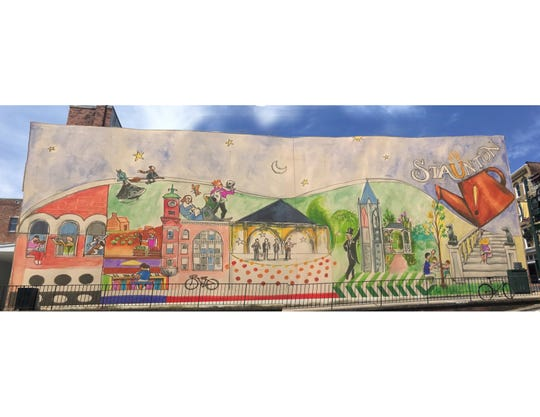 Chico Lorenzo's, from Charlottesville, mural submission.