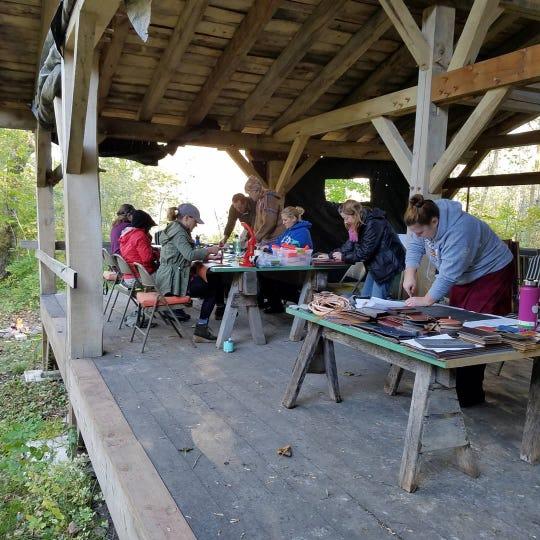 The Avon Hills Folk School Hand Camp runs from Sept. 20-22.