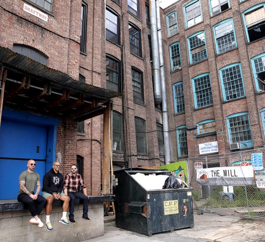 From left, Matthew Williams, Andy Galagarza, and Kevin Glessing are the three partners behind Simple Motive Brewing at The Mill in Yonkers. They were photographed at The Mill Sept. 13, 2019.