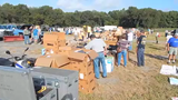 A large crowd showed up for the town of Dewey Beach's auction of surplus equipment on Saturday.  Video provided by Chuck Snyder.  9/16/19