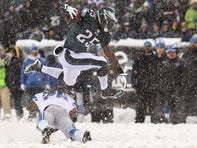 From Megatron to LeSean McCoy in Snow Game, top 5 performances in Eagles-Lions series