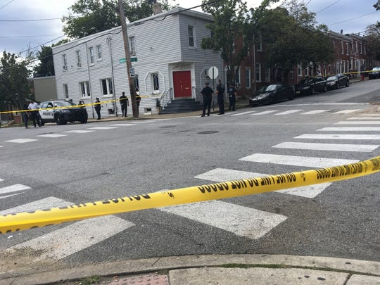 Police investigate a shooting on Seventh and Monroe in Wilmington