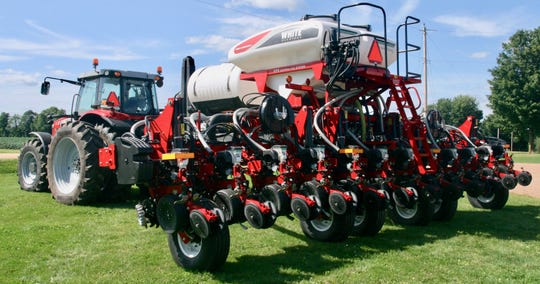 The latest in planting equipment was also on display at the recent crop tour.