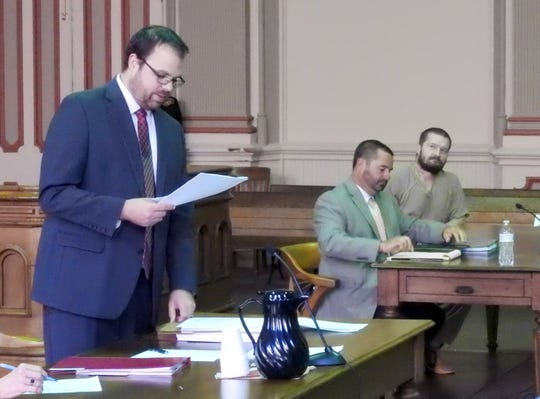 John Lynn, represented by Jeremy McClendon, was sentenced to 10 months in prison after he was found wandering through apartments on Brandywine looking for drugs.