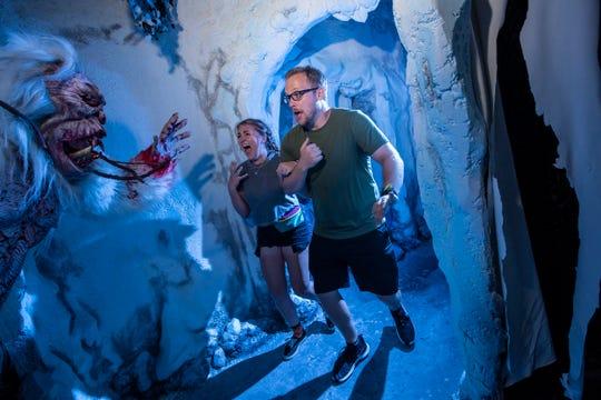 Yeti Terror of the Yukon Halloween Horror Night house at Universal Orlando.