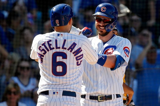 The Cubs head into Monday one game behind the Cardinals in the NL Central.
