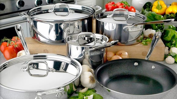 The Factory Seconds sale offers huge discounts on cookware, bakeware, and more.