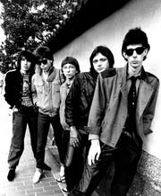 The music group The Cars, from left,David Robinson, Elliot Easton Greg Hawkes, Benjamin Orr, and Ric Ocasek are shown in this undated file photo. --- DATE TAKEN: rec. 8/06  No Byline  NoCredit        HO      - handout   ORG XMIT: ZX50800